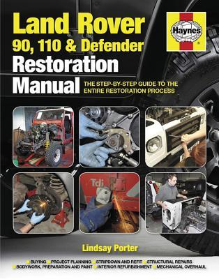 Land Rover 90, 110 and Defender Restoration Manual: The Step-By-Step Guide to the Entire Restoration Process Lindsay Porter