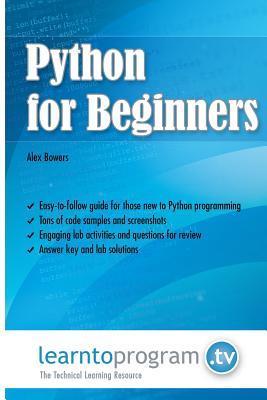 Python for Beginners MR Alex Bowers