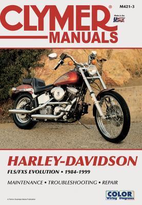 Harley-Davidson FLSFX Softail Big-Twin Evolution 1984 - 1999 Clymer Publishing