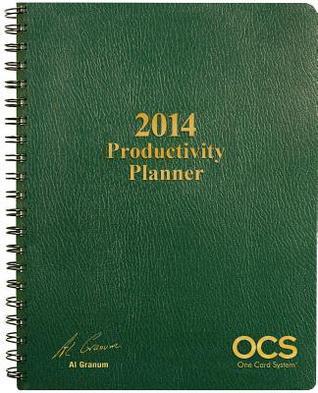 2014 OCS Productivity Planner Al Granum
