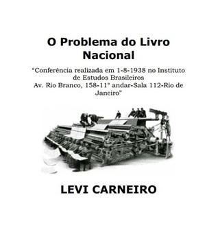 O Problema do Livro Nacional  by  Levi Carneiro