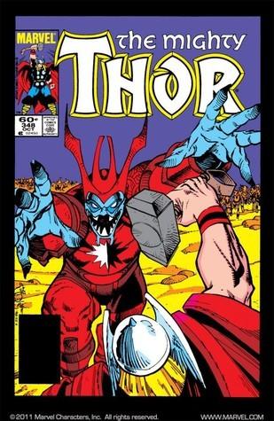 Thor #348  by  Walter Simonson