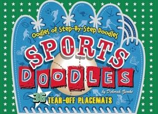 Sports Doodles Placemats Deborah Zemke