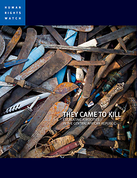 They Came to Kill: Escalating Atrocities in the Central African Republic  by  Peter Bouckaert