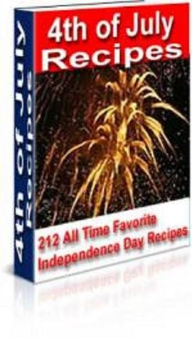 4th of July Recipes Cookbook Ebook Jane Brown