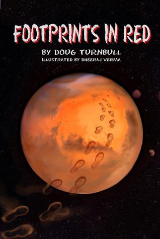 Footprints in Red Doug Turnbull