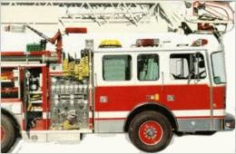 Fire Engine  by  Funfax Ltd