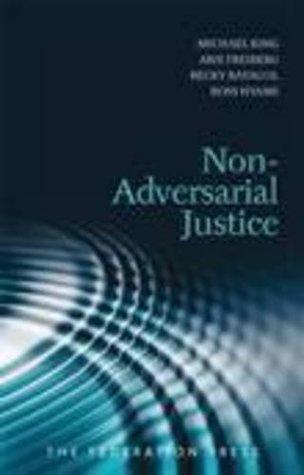 Non Adversarial Justice Michael King