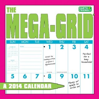 The Mega-Grid Calendar  by  Zebra Publishing Corp.