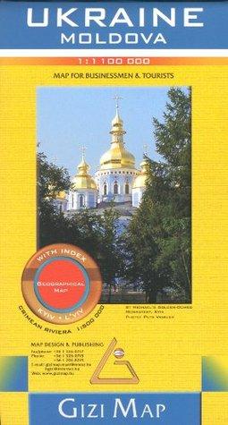 Ukraine & Moldova 1:1,100,000 Travel Map GIZI, 2012 edition Gizella Bassa