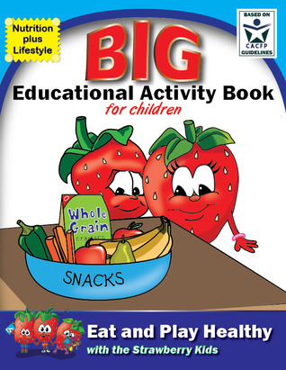 Eat and Play Healthy Big Educational Activity Book Billie Webb