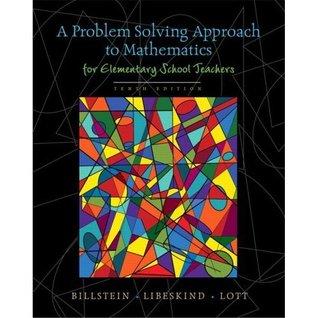 A Problem Solving Approach To Mathematics For Elementary School Teachers Rick Billstein