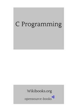 C Programming Wiki Books