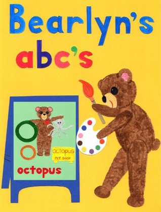 Cuddly Bears Alphabet ABCs Flash Cards: Uppercase & Lowercase Letters (Brushed Hand) by Bearlyn