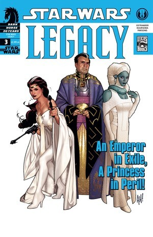 Star Wars: Legacy #3  by  John Ostrander