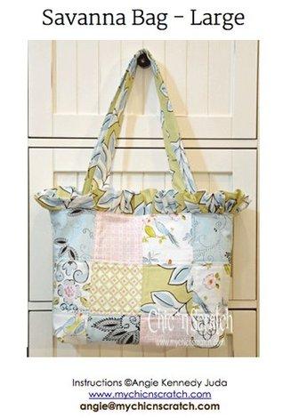 Savanna Bag Tutorial  by  Angie Kennedy Juda