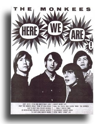 The Monkees Here We Are Magazine Bio 1967  by  Monkees