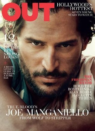 Out Magazine (March 2012) True Bloods Joe Manganiello Cover  by  Aaron Hicklin