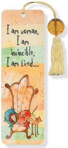 I Am Woman Beaded Bookmark  by  Peter Pauper Press Inc.