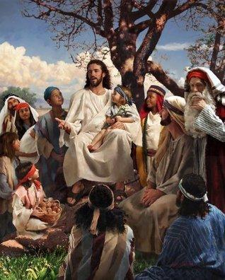 Jesús Enseña en la Montaña: Sermón del Monte Niños Lecciones de Escuela Dominical Stephen R.  Wilson