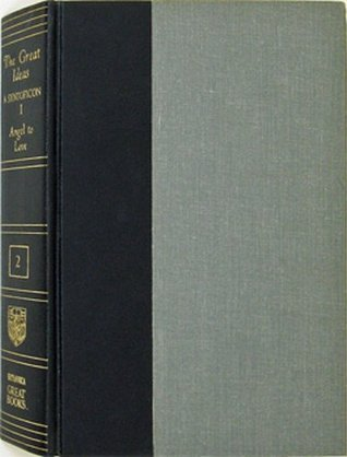 The Great Ideas - A Syntopicon - I (Angel To Love) (Vol. 2 of Great Books Of The Western World Collection) Robert Maynard Hutchins