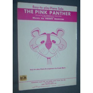 The Pink Panther - Easy to Play Piano Solo  by  Henry Mancini