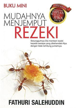 Buku Mini Mudahnya Menjemput Rezeki  by  Fathuri Salehuddin