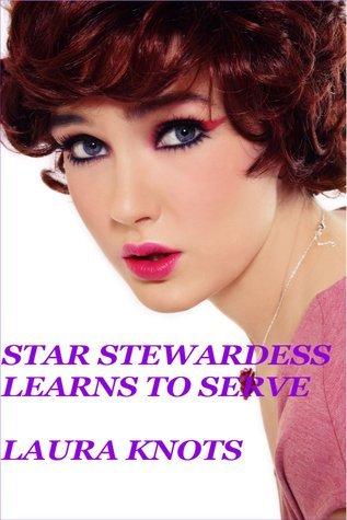 Star Stewardess Leans to Serve Laura Knots