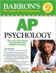Barrons AP Psychology 4th (fourth) edition Text Only Robert McEntarffer