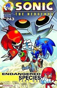Sonic the Hedgehog, No. 243: Endangered Species Part 1 Ian Flynn