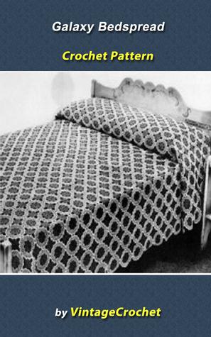 Galaxy Bedspread Vintage Crochet Pattern Vintage Crochet