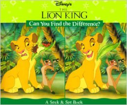 Can You Find the Difference?: A Seek & See Book  by  Walt Disney Company