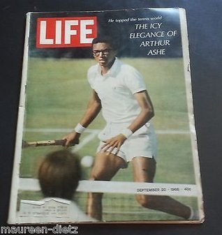 Life Magazine September 20, 1968, On the cover: A color photo of pro tennis player Arthur Ashe  by  Hedley Donovan