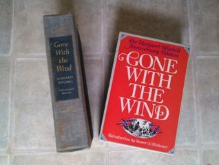 Gone With The Wind Margaret Mitchell Anniversary Edition 1975  by  Margaret Mitchell