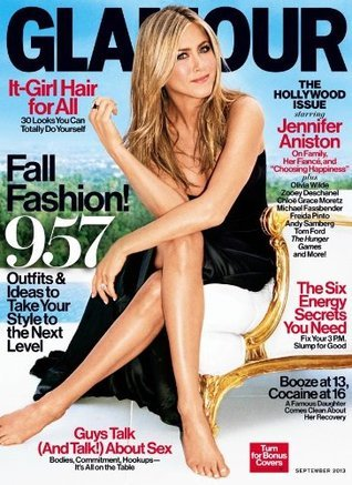 Glamour Magazine (September 2013) Jennifer Aniston - The Hollywood Issue  by  Glamour