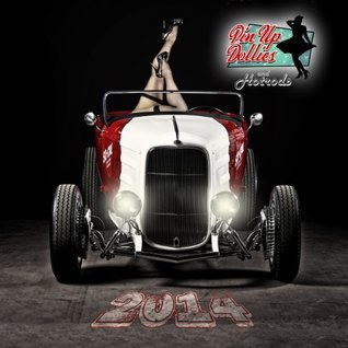 2014 Pinup Dollies and Hotrods Calendar Pinup Dollies