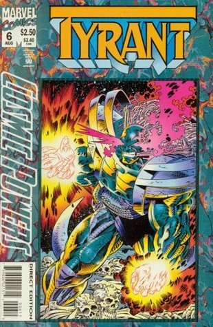 Cosmic Powers #6 Featuring Tyrant Ron Marz