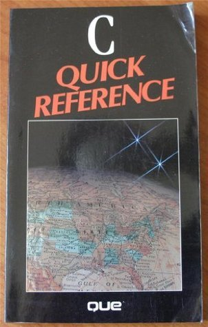 C Quick Reference  by  Alan C. Plantz