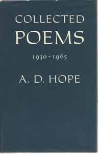 Collected Poems 1930-1965  by  A.D. Hope