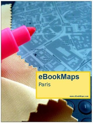 Map of Paris, France  by  NOT A BOOK