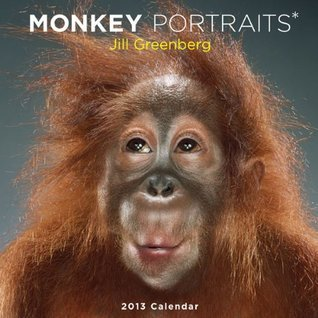 Monkey Portraits 2013 Wall Calendar  by  Jill Greenberg