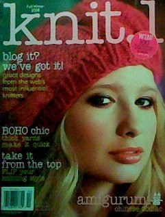 Knit.1, Fall/Winter 2008 Issue Leslie Barber