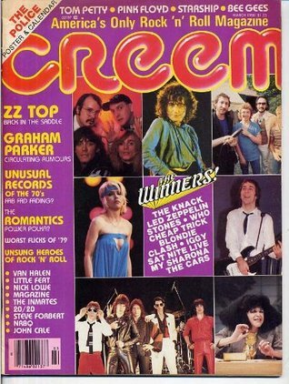 Creem ZZ TOP March 1980 Whitall