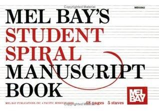 Student Spiral Manuscript Book 5-Stave Mel Bay