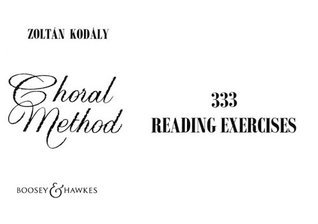 333 Reading Exercises  by  Zoltan Kodaly