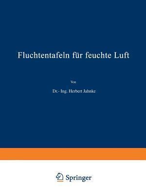 Fluchtentafeln Fur Feuchte Luft  by  H. Jahnke