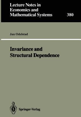 Invariance and Structural Dependence  by  Jan Odelstad