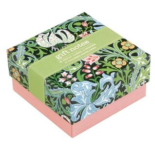 V&A William Morris Evening Lily Gift Notes  by  Victoria & Albert Museum