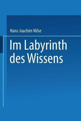 Im Labyrinth Des Wissens: Zu Robert Musils Roman Der Mann Ohne Eigenschaften Hans-Joachim Volse