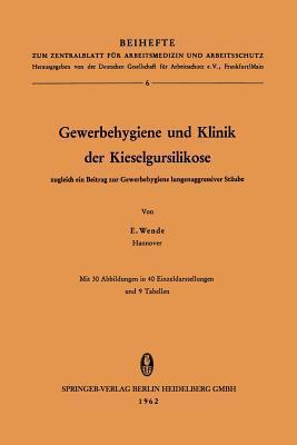 Gewerbehygiene Und Klinik Der Kieselgursilikose: Zugleich Ein Beitrag Zur Gewerbehygiene Lungenaggressiver Staube  by  Erich Wende